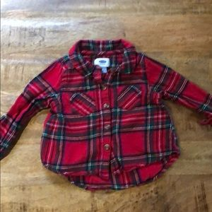 Old Navy Girls Flannel Shirt